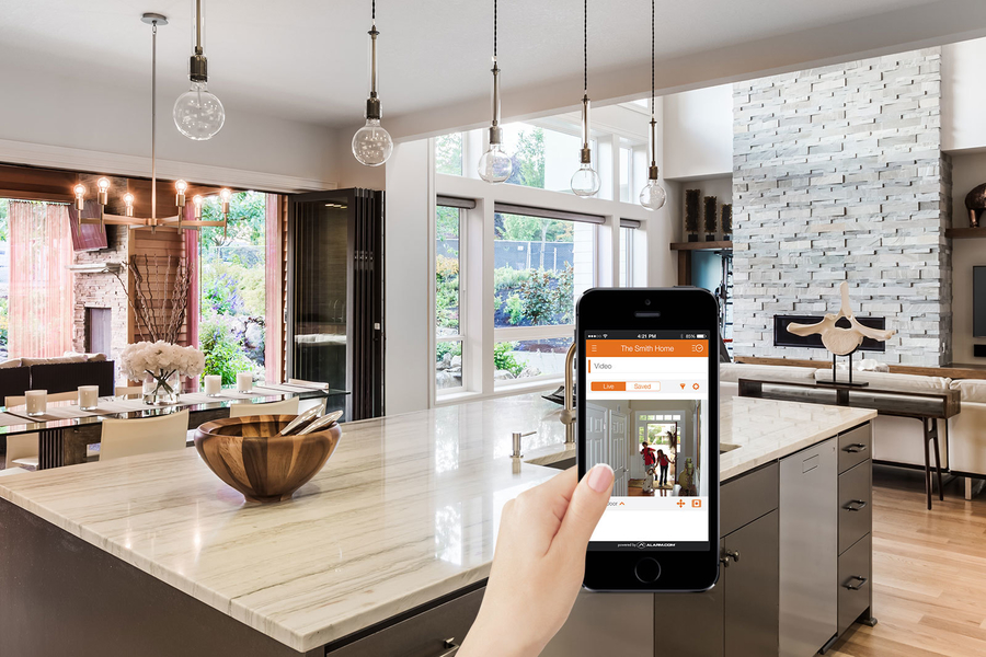 Make New Homes Smart from the Start with an Alarm.com System
