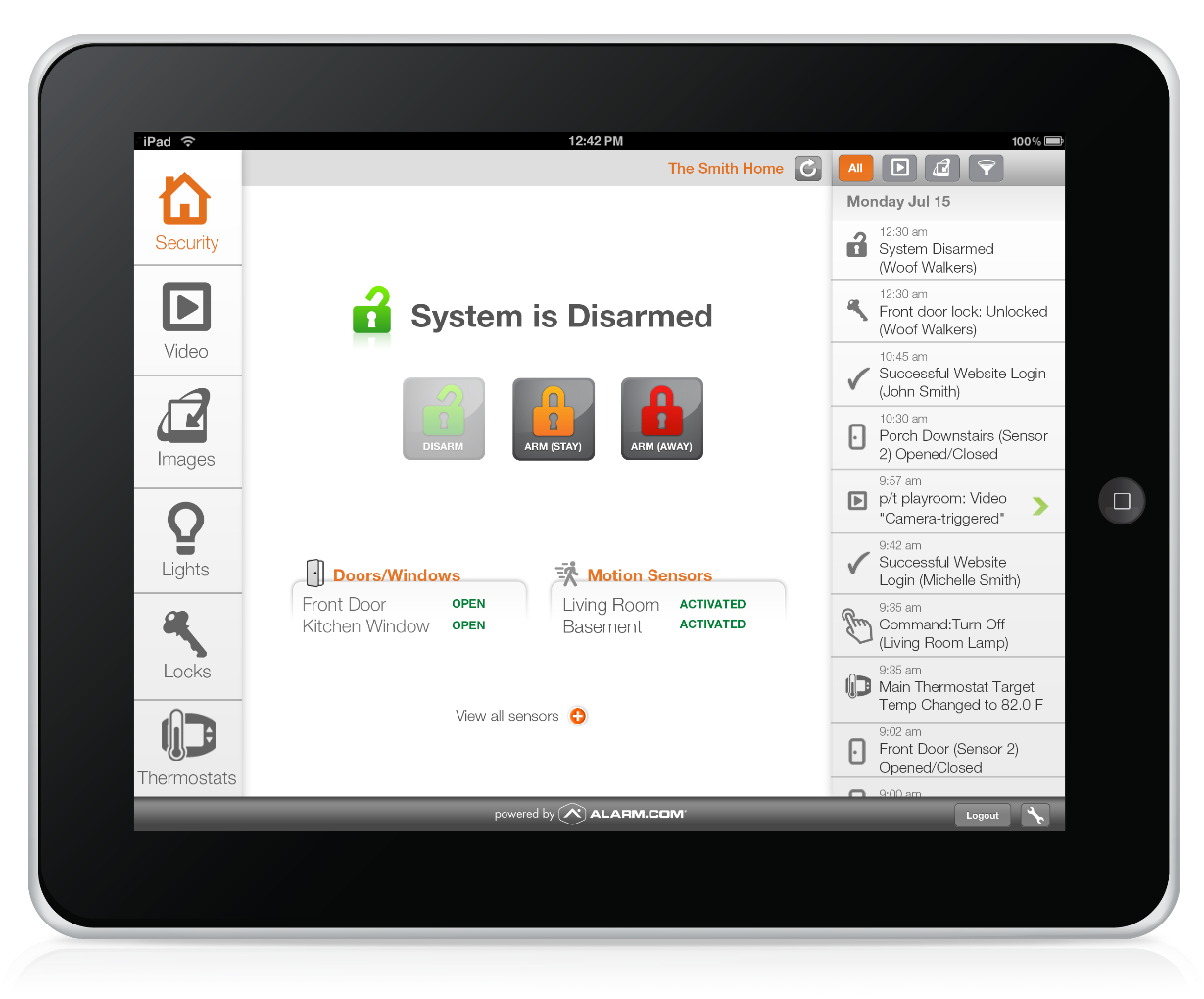 Protect Your Home with a Customizable Home Security System